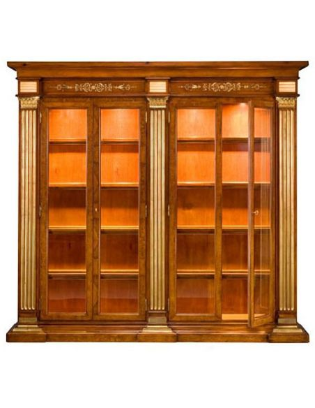 Bookcases 57-56 Solid walnut wood Bookcase
