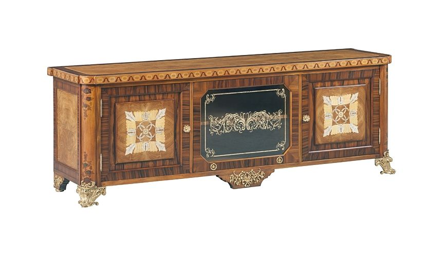 Entertainment Centers, TV Consoles, Pop Ups 59-59 Solid walnut wood TV CABINET