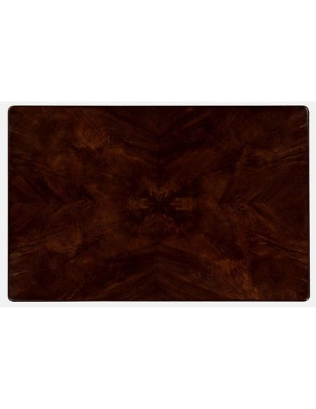 Coffee Tables Antique Rectangular Coffee Table with mahogany finishing