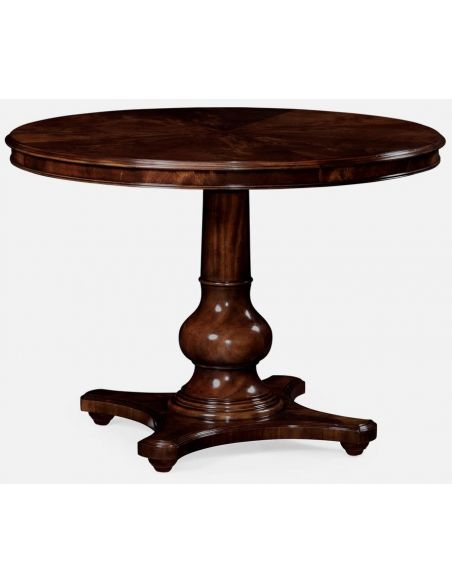 Round & Oval Side Tables Round Pedestal Table