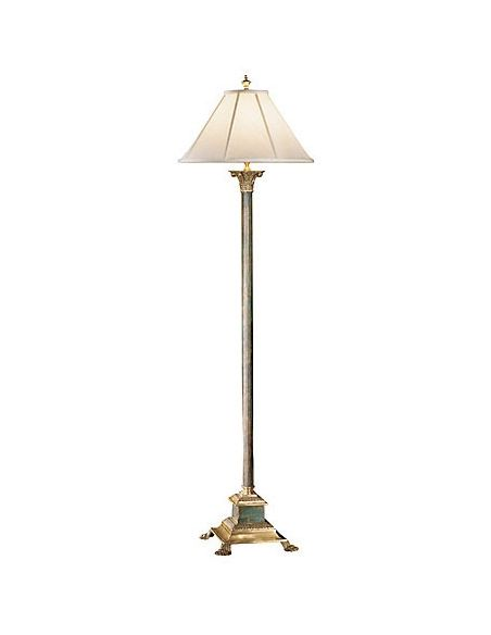 Decorative Accessories Bronze Sleek Floor Lamp