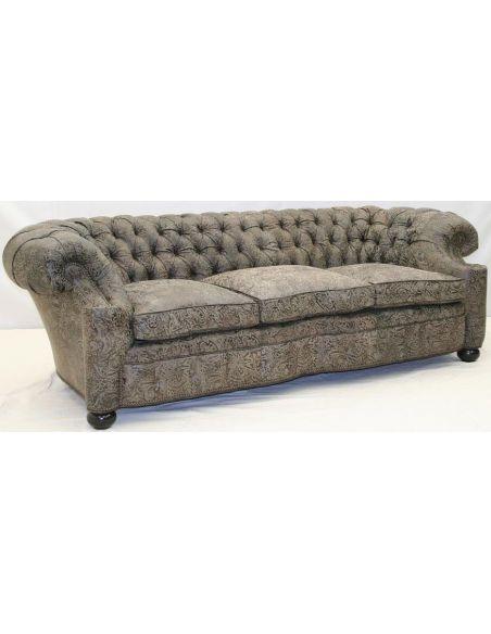 1042-03 London City Club Large Sofa
