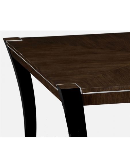 Dining Tables AMW - High Top Table with Stainless Steel detailing