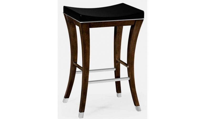 Luxury Leather & Upholstered Furniture Transitional Counter Stool
