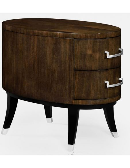 Modern Furniture Stylish Oval Chest of Drawers