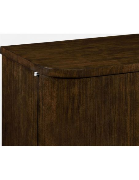 Upscale Bar Furniture Elegant Two Doors Buffet