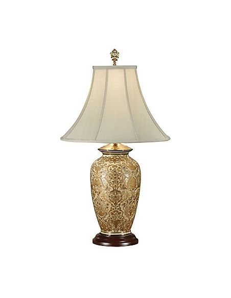 Decorative Accessories Hand Painted Damask Lamp