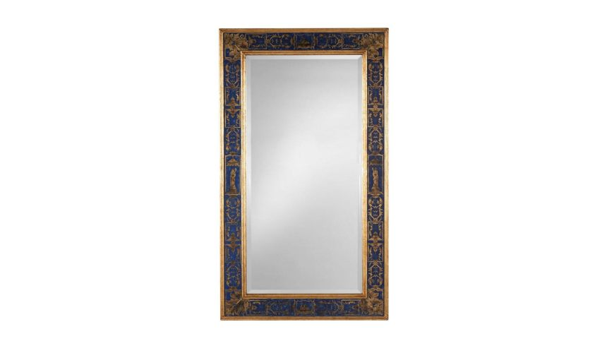 Home Accessories Luxurious Home Accents and Décor Blue Plain Mirror