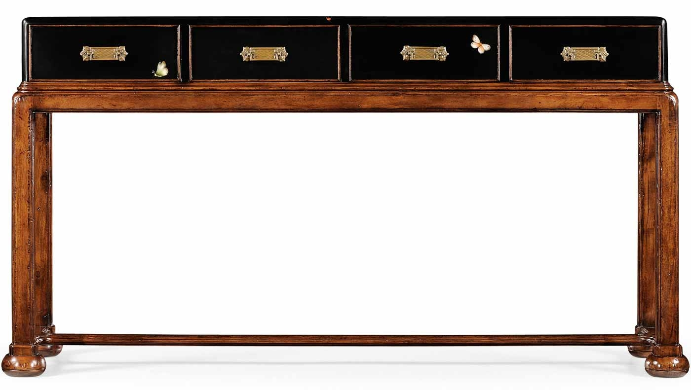 Console U0026 Sofa Tables Campaign Style Console Table 26