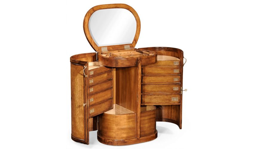 Square & Rectangular Side Tables Oval Vanity Dressing Table-40
