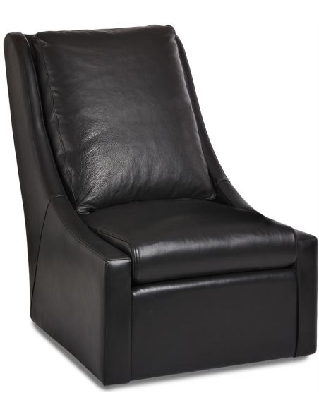 Luxury Leather & Upholstered Furniture Bayden Swivel Chair