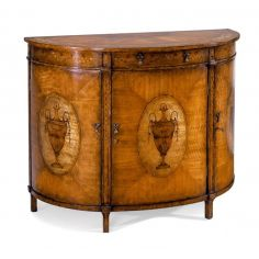 Demilune Cabinet Luxurious Home accents