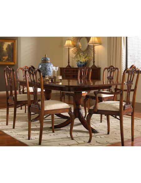 Dining Tables Extending Dining Table Furniture self storing leaf