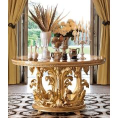 1 Empire style foyer center table