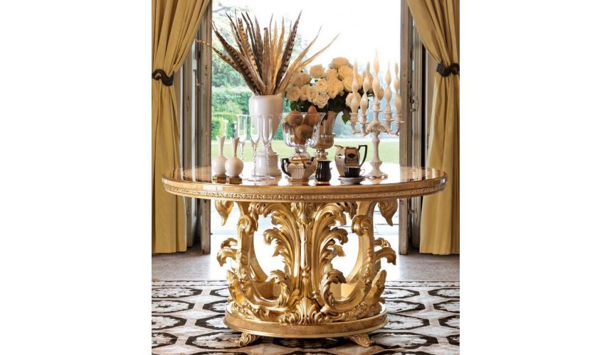 Empire Style Furniture 1 Empire style foyer center table