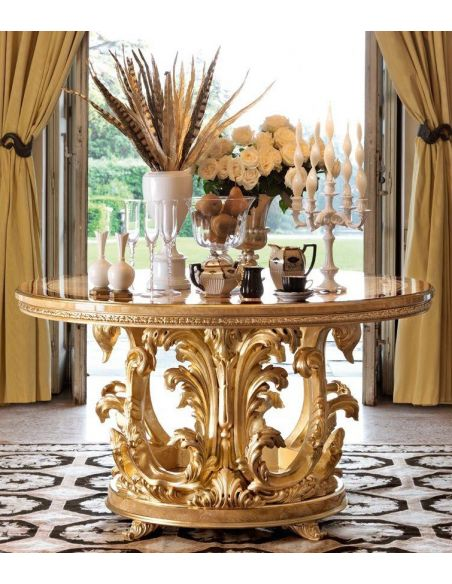 Dining Tables 1 Empire style foyer center table