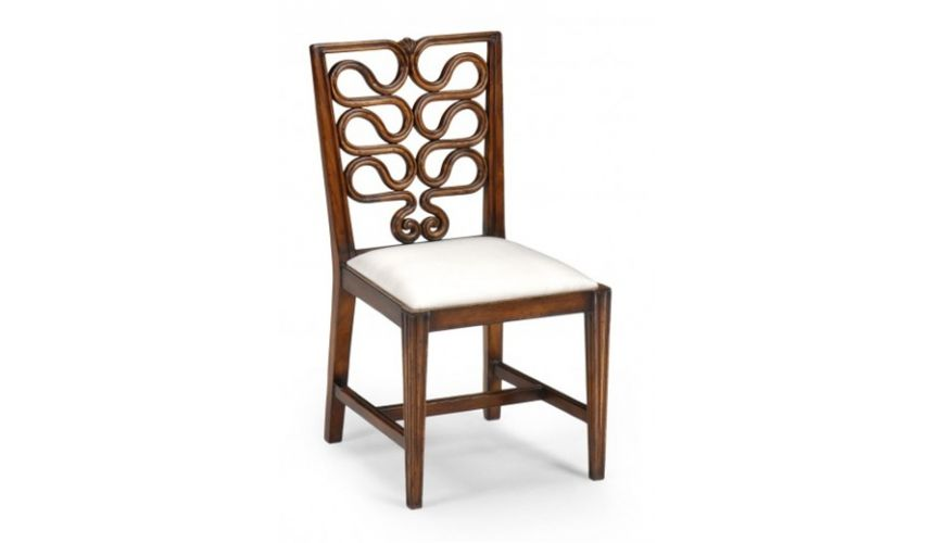 by Room > DINING ROOM FURNITURE > Dining Chairs > Luxury Dining Room...