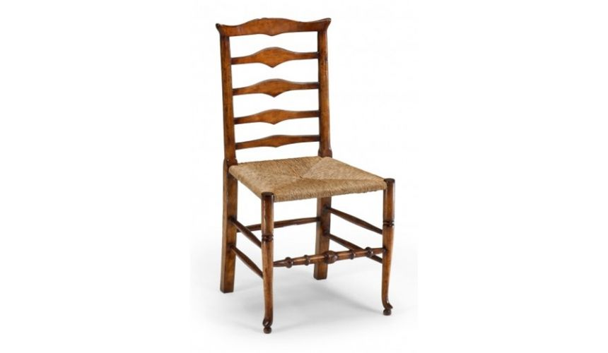 Dining Chairs High Quality Dining Room Furniture Ladder Back Side Chair
