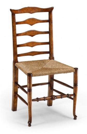 High quality dining room furniture ladder back side chair for Dining room high back chairs
