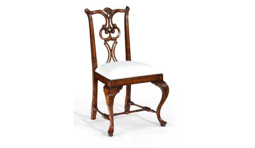 Dining Chairs High Quality Dining Room Furniture Pierced Back Side Chair