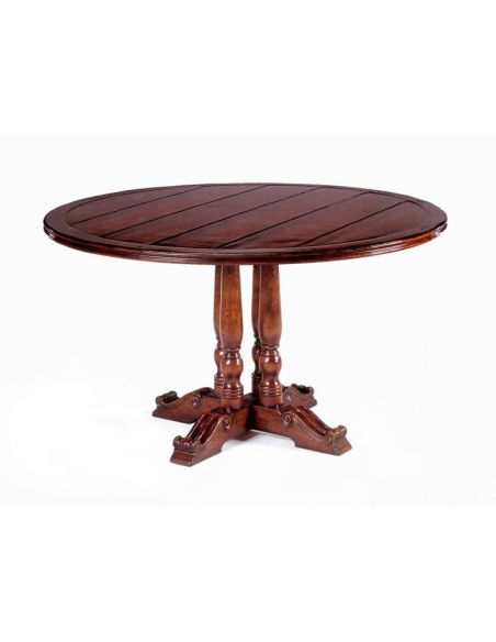"Dining Tables Round Dining Table (70\"") Home Accessories"