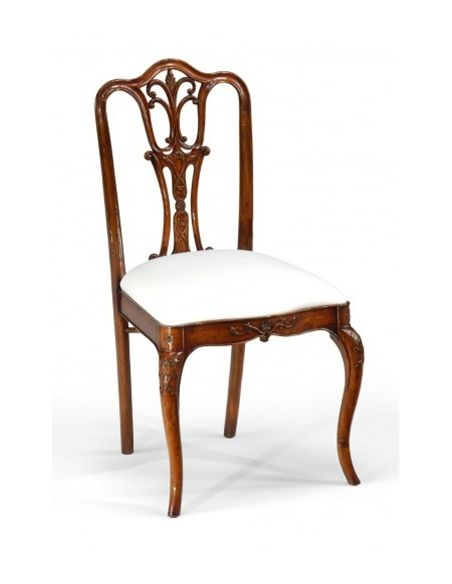 Dining Chairs High End Dining Room Furniture Side Chair with carved back