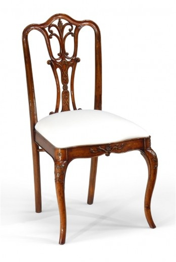 Dining Chairs High End Room Furniture Side Chair With Carved Back
