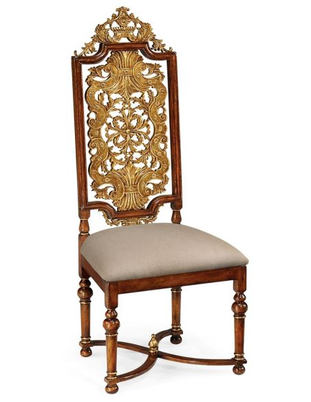 Dining Chairs Dining Side Chair with Backed Hall-93