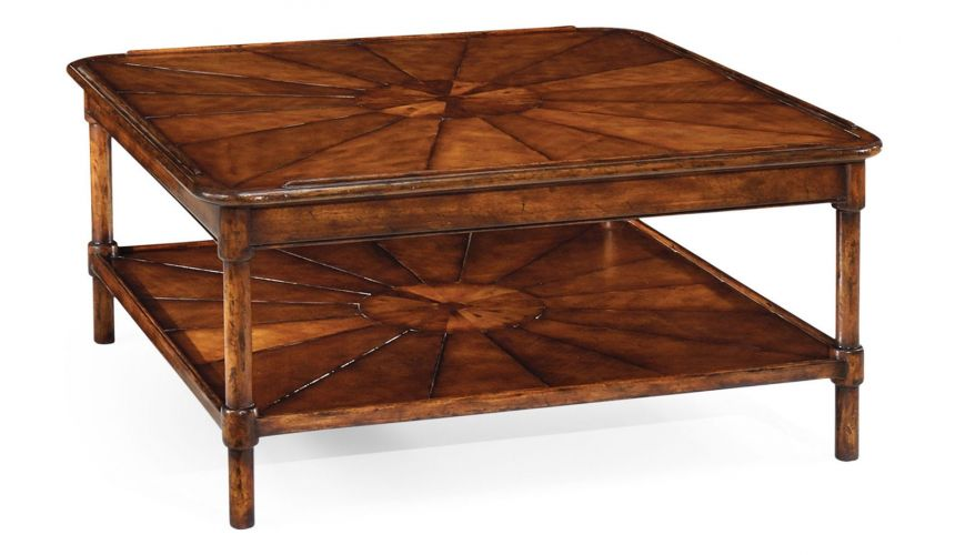 Rectangular and Square Coffee Tables Two-Tier Coffee Table-91