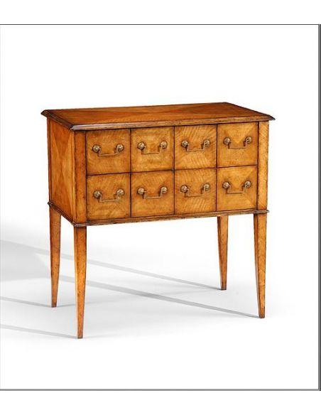 Chest of Drawers Chest Of Drawers eight drawers with diamond veneer inlay