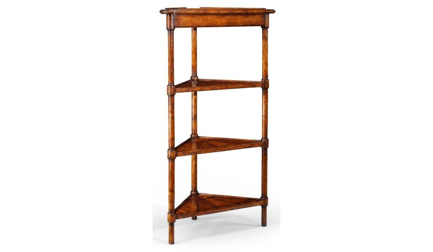 Square & Rectangular Side Tables Tall Corner Shelf Library Office Furniture