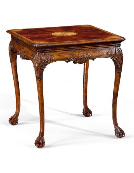 Square & Rectangular Side Tables Square Luxury Furniture Carving Table, Side, Lamp & Bedside
