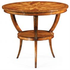 Elegant Marquetry Center Table-28