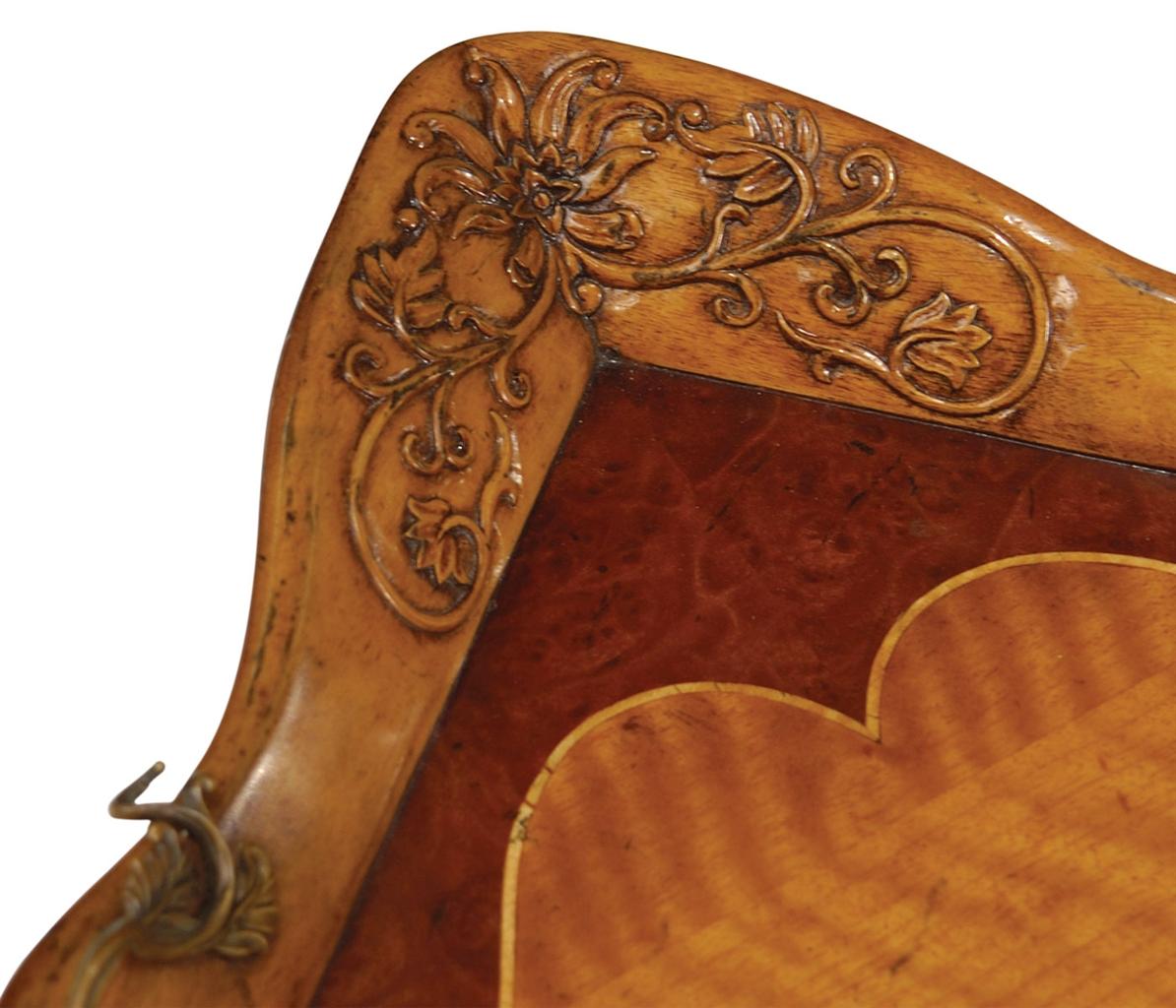 Rococo style decorative serving tray for Rococo decorative style