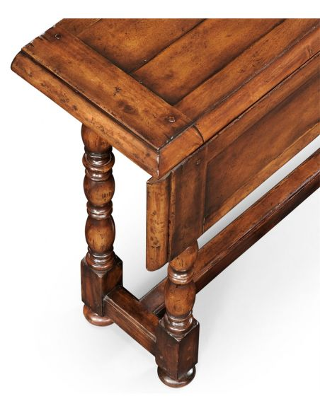 Console & Sofa Tables Walnut Country Sofa Table-18
