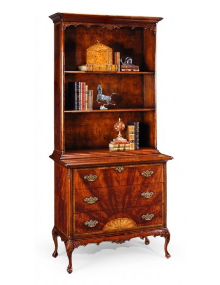 Bookcases High end Furniture Mahogany Bookcase, Chest Of Drawers