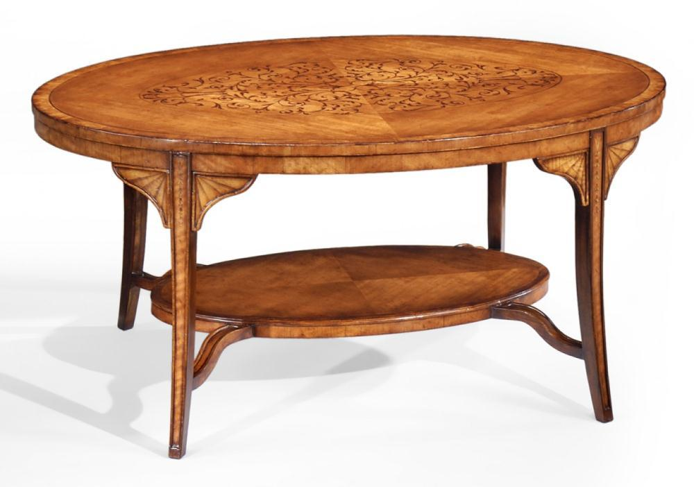 High End Furniture Oval Coffee Tables