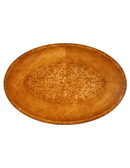 Coffee Tables High End Furniture Oval Coffee Tables