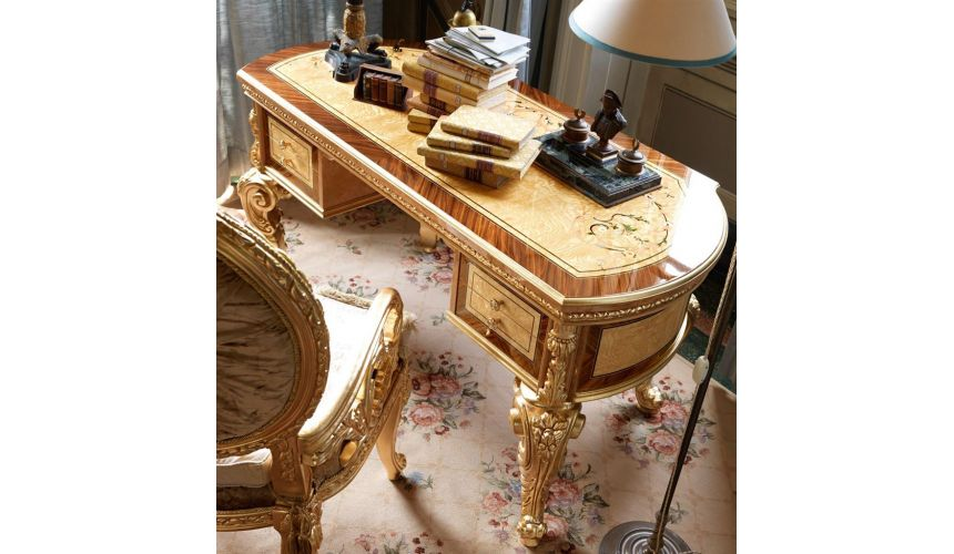 Executive Desks Luxury writing desk from our exclusive empire collection.
