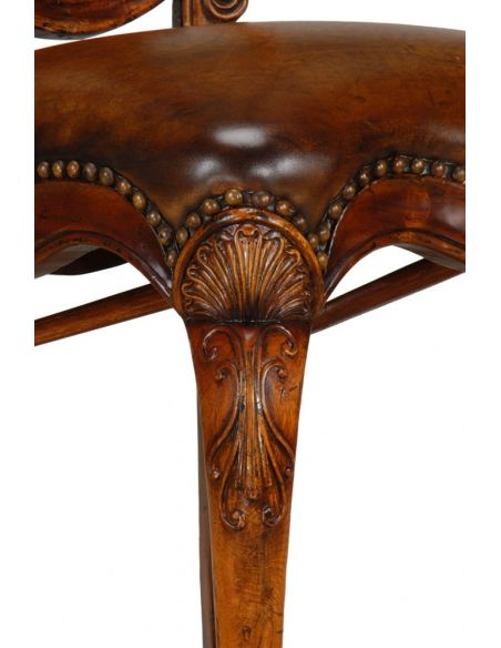Dining Chairs High End Dining Rooms Furniture Carved Dining Arm Chair.