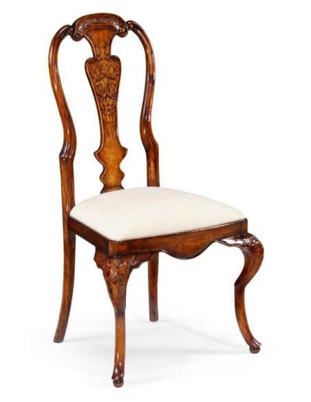 Dining Chairs High End Dining Rooms Furniture Veneered Back Side Chair