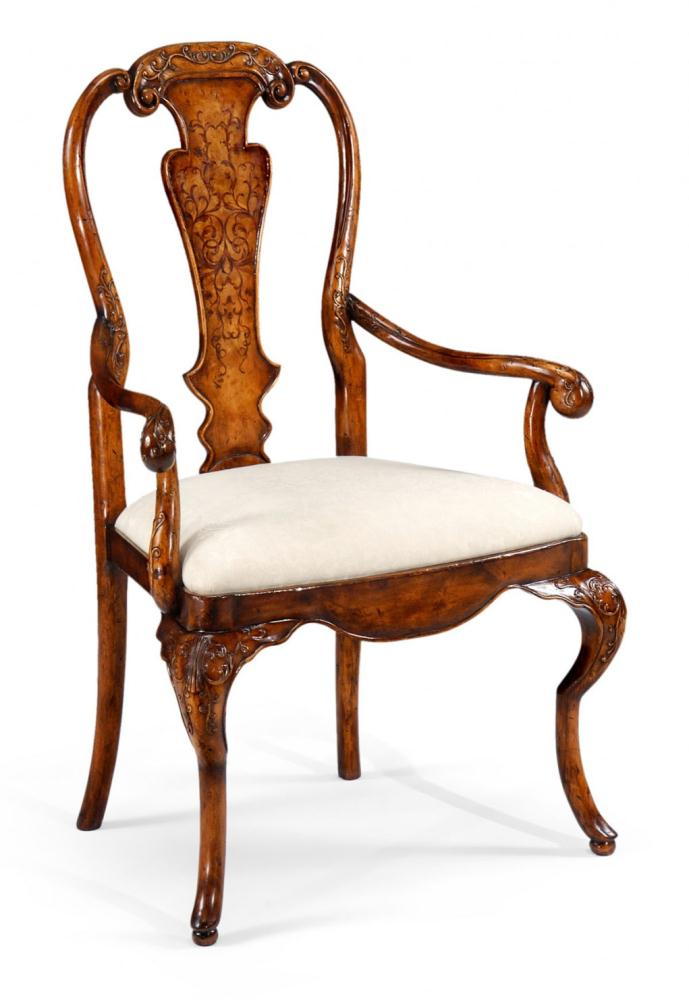 High end dining rooms furniture veneered back side chair for Dining room high back chairs