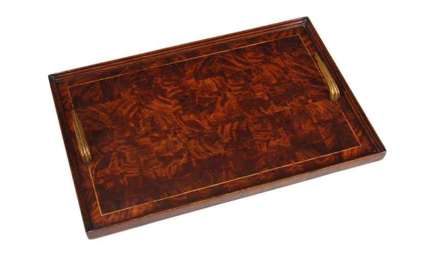 Decorative Accessories Home Accessories luxurious home accents and rectangular Patchwork Tray