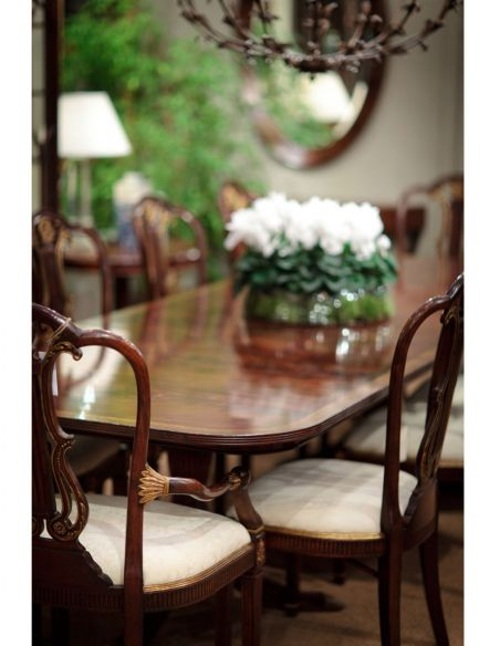 Dining Tables Classic Regency Dining Table Set 67