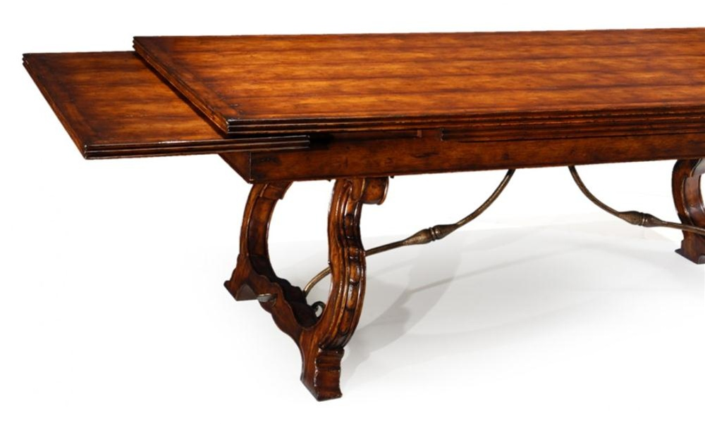 High end leaf dining table for High side table