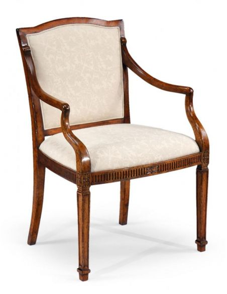 Dining Chairs Home Furnishings High End Dinning Room Furniture Upholstered Arm Chair