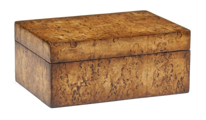 Decorative Accessories Home Accessories Luxurious Home Accents and Decor Massur Birch Veneer Box