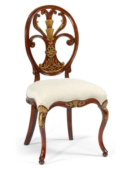 Luxury Leather & Upholstered Furniture Quality Sofa Leather And Upholstered Furniture Side Chair