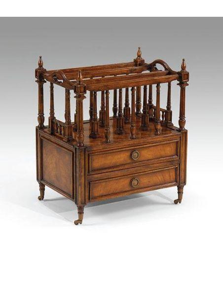 Decorative Accessories Home Bar Furniture Walnut Canterbury