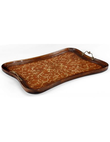 Decorative Accessories Luxurious home Marquetry Tray